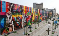 Murcia contracts the services of Brazilian graffiti artist Eduardo Kobra