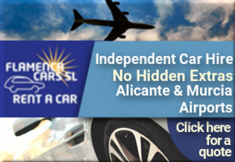 Flamenca Cars for Murcia and Alicante airport car hire