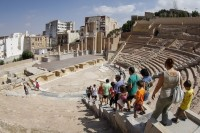 The Roman Theatre Museum in Cartagena will be open this bank holiday Monday May 1st