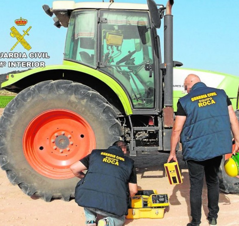Murcia Today Albudeite Agricultural Thieves Busted By Rural