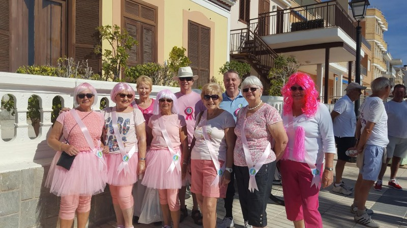 ADAPT join MABS Race for Life on the Mar Menor coastline