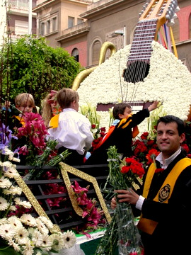 April. Fiestas de la Primavera, Murcia,and  Bando de la Huerta