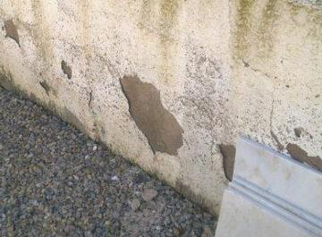 Gardening in Spain, Hard Landscaping- Why does all the coating keep falling off the walls?