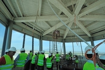 <span style='color:#780948'>ARCHIVED</span> - Corvera Airport, latest photos as construction forges ahead