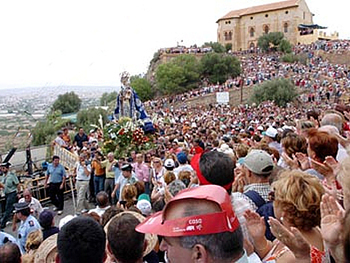 Murcia Romeria of the Fuensanta Bajada