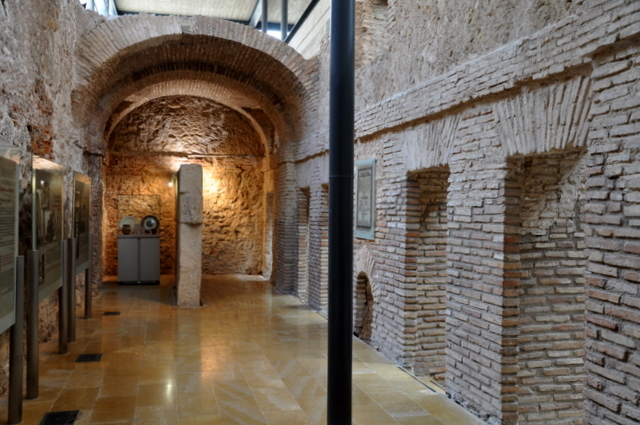 The Los Baños archaeological museum in Alhama de Murcia
