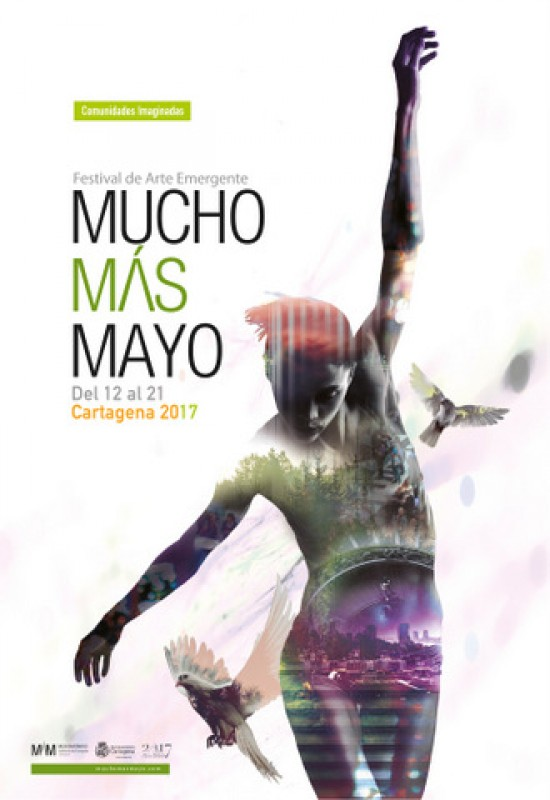 12th to 21st May Mucho Mas Mayo emerging arts festival in Cartagena