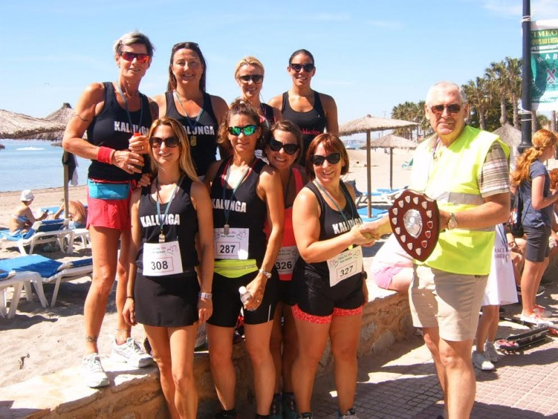 Everyone's a winner in MABS Mar Menor Race for Life