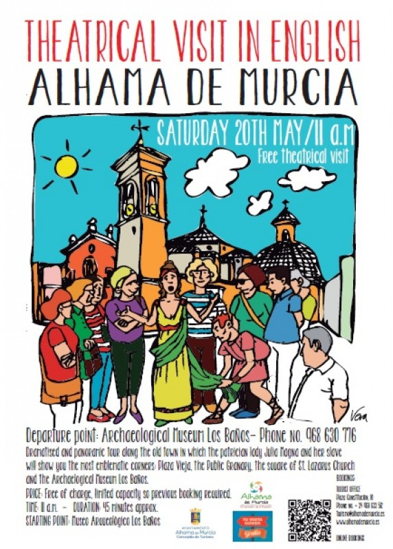 15th to 21st May What's on in Alhama de Murcia