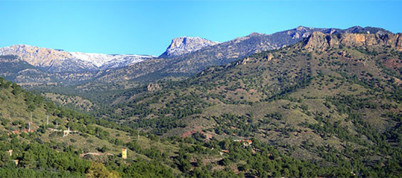 28th May free guided 7km route in the Sierra Espuña