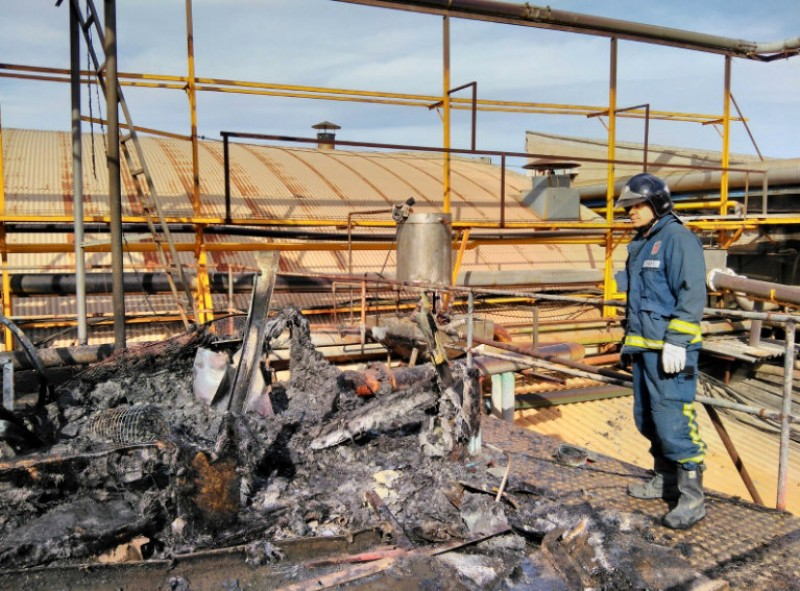 60 evacuated in Mula fruit processing factory fire