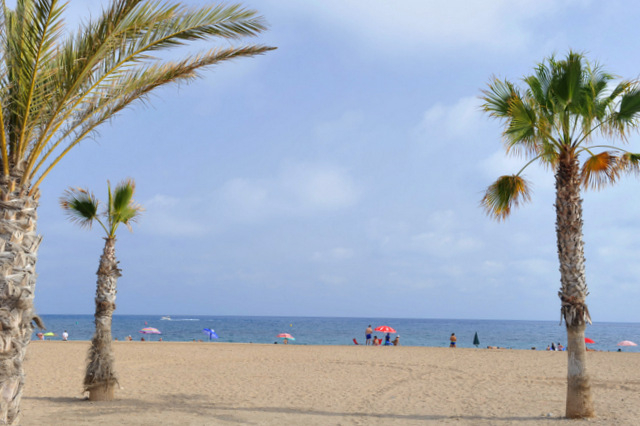 Mazarrón beaches: Playa de Bolnuevo