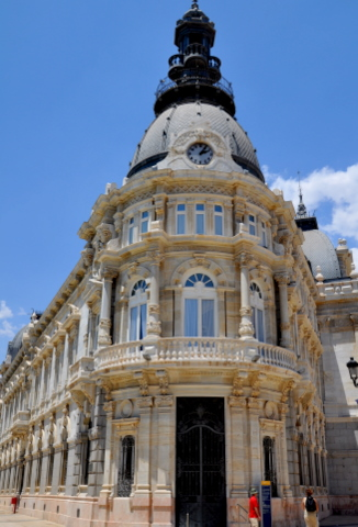 Tourist information office Cartagena Spain