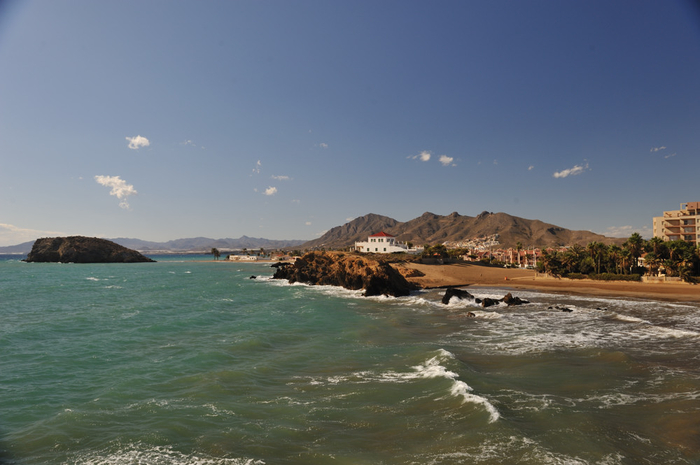 Mazarrón beaches: Playa de la Pava