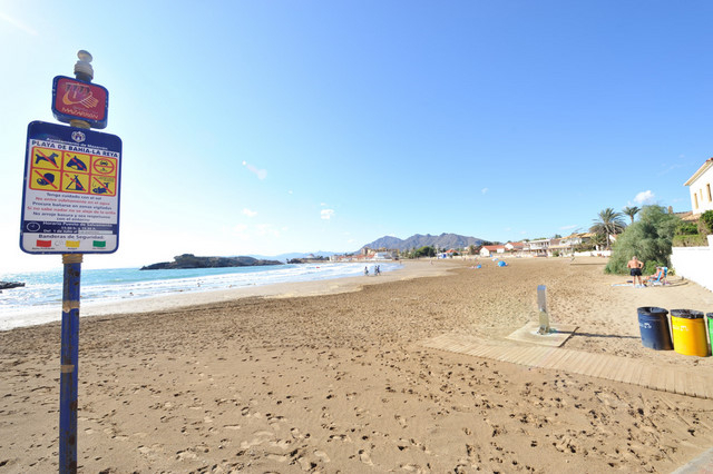 Mazarrón beaches: Playa de la Reya
