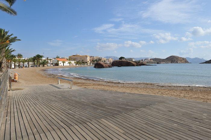 Mazarrón beaches: Playa de La Ermita