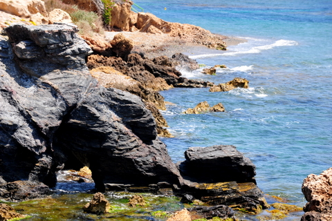 Cabo de Palos,Cartagena  Mar Menor , Med side offers secluded coves and volcanic rock