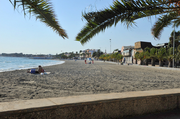 murcia today - overview of the beaches of san pedro del pinatar