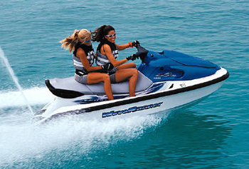 Motor boat and jet ski hire in Puerto de Mazarron