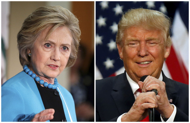 Trump draws even with Clinton in national White House poll