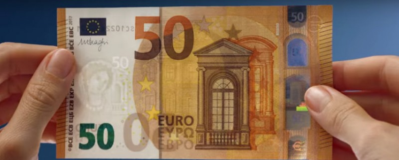 <span style='color:#780948'>ARCHIVED</span> - New 50-euro notes come into circulation on Tuesday