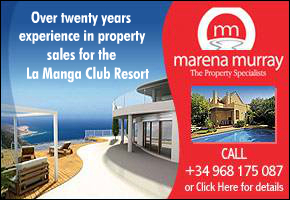 Marena Murray Estate Agents La Manga Club