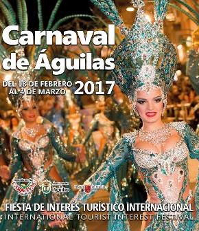 Águilas Carnival banner