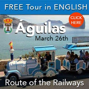 Aguilas Railway tour 26th March