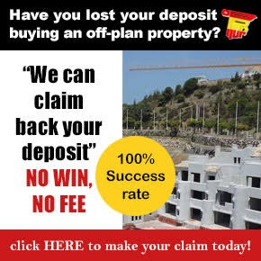 Off Plan Property deposit refunds