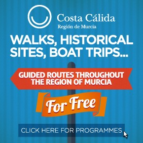 Murcia Turistica Walking Lower whats on Bulletin