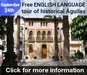 Aguilas English guided tour 24th September