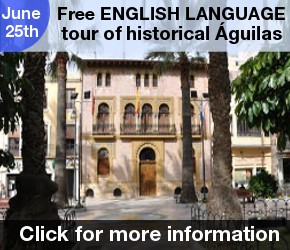 Aguilas English guided tour 25th June
