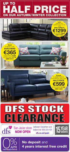 DFS Furniture news column