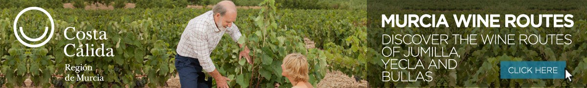 Murcia Turistica Wine Routes homepage