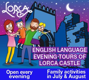 Lorca Castle evening tours
