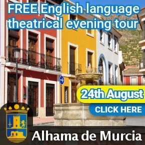 Alhama English castle tour 3rd August