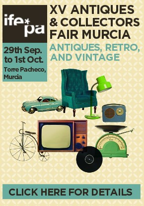 IFEPA Antiques Fair 29th September to 1st October