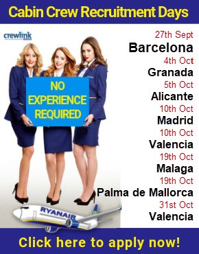 Crewlink Cabin Crew Recruitment news