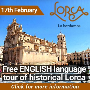 Lorca English historical tour 17th February