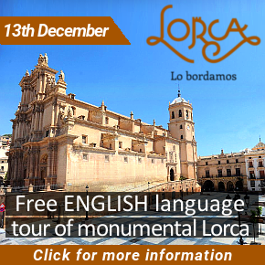 Lorca English monumental tour 13th December