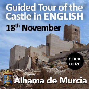 Alhama de Murcia English Castle Tour 18th November