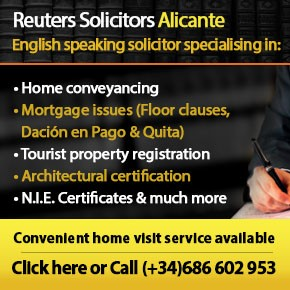 Reuters solicitors Alicante