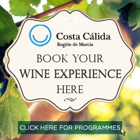 Murcia Turistica Wine Routes homepage in page