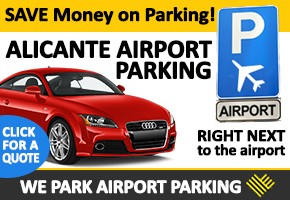 We Park Alicante airport parking