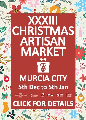 Christmas artisan fair Murcia City