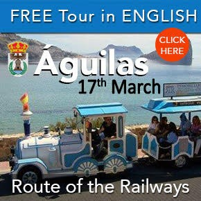 Aguilas English railway tour 17th March