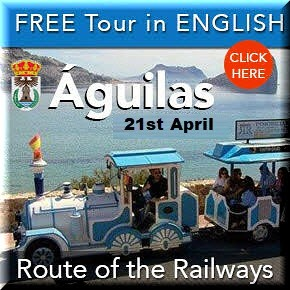 Aguilas English railway tour 21st April