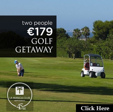 La Manga Club golf March Home page