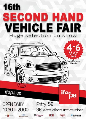 IFEPA Second hand vehicle Fair 2018