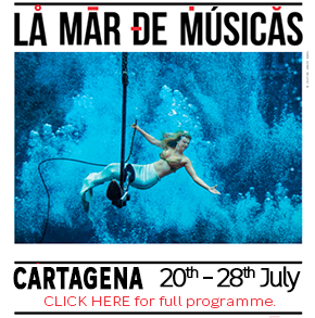 Mar de Musica Home page header banner